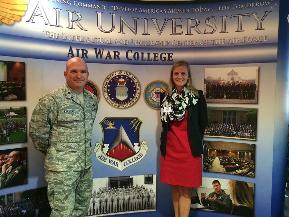 Sarah Air War College